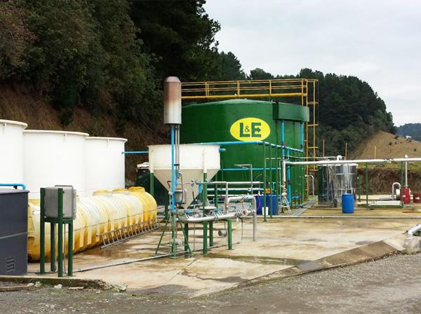 Planta Biogas Puerto Pctay