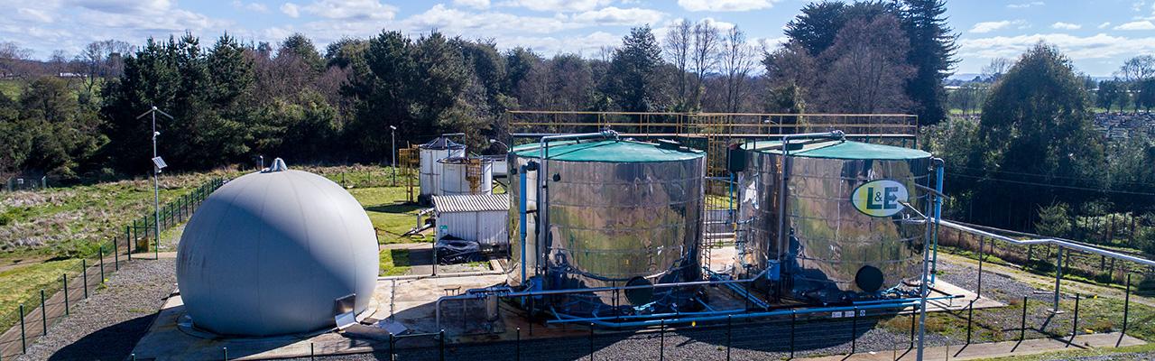 Biogas a partir de purines